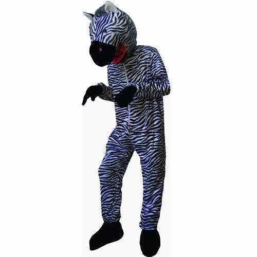 Dress Up America Zoete Gestreepte Zebra Kostuum volwassenen