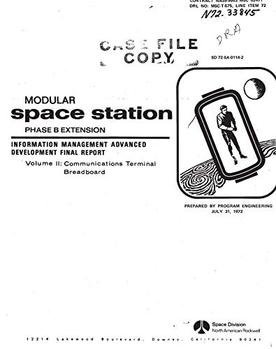 Modular space station, phase B extension. Information management advanced development. Volume 2: Communications terminal breadboard (English Edition)