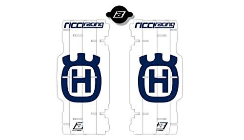 BLACKBIRD RACING - 84795 : Adhesivos para rejillas de radiador Blackbird réplica Husqvarna Ricci Racing 2015 A602R