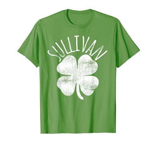 Sullivan St Patrick's Day Familia irlandesa Apellido Coincidencia Camiseta