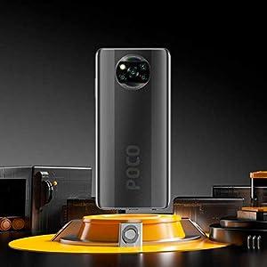"Xiaomi Poco X3 Smartphone 6GB 128GB, Snapdragon 732G, 64MP Cámara, Pantalla 6.67"" Dot Display, NFC, 5160mAh batería, Versión Global, Gris"