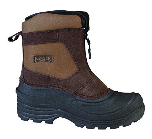 Ranger Flintlock III Men's Leather Thermolite Winter Boots, Brown (RP119)