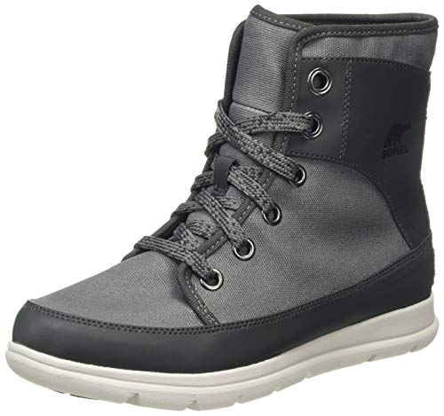 SOREL - Women's Sorel Explorer 1964 Waterproof Insulated Sneaker Boot, Quarry, 8 M US