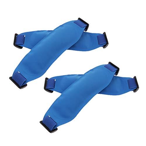 sharprepublic Bolso de La Bolsa de Hielo Reutilizable 4pcs para El Enfriamiento de La Fiebre de Los Adultos de Los Niños, Lesiones Que Refrescan