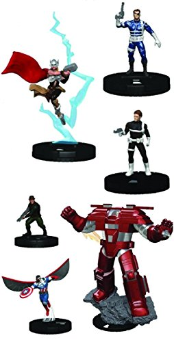 Marvel HeroClix: Nick Fury - Agent of Shield Booster Pack