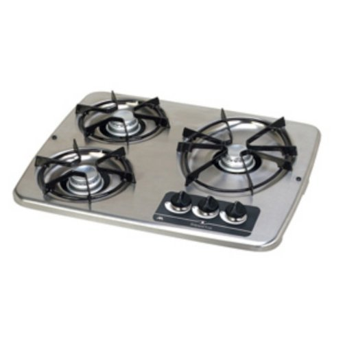 Atwood 56472 Stainless Drop - in 3 Burner