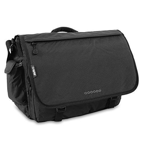 J World New York Thomas Laptop Messenger Bag, Black