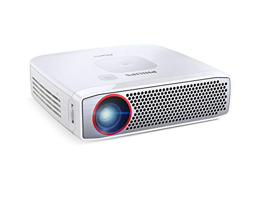 Philips PPX 4835 Pico Pix 4835 LED-Projektor (HDMI, Kontrast: 100000:1, 1280x800 Pixel, 350 ANSI Lumen, HDMI, USB) weiß