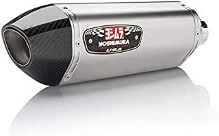 Yoshimura 17-18 KTM RC390 R-77 3/4 System Exhaust (Race/Stainless Steel/Stainless Steel/Carbon Fiber)