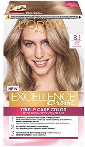 Loreal Excellence 8.1 Licht Asblond