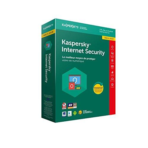 Kaspersky Internet Security 2018 Mise à jour   1 Poste   1 An   PC/Mac/Android/iOS   Téléchargement