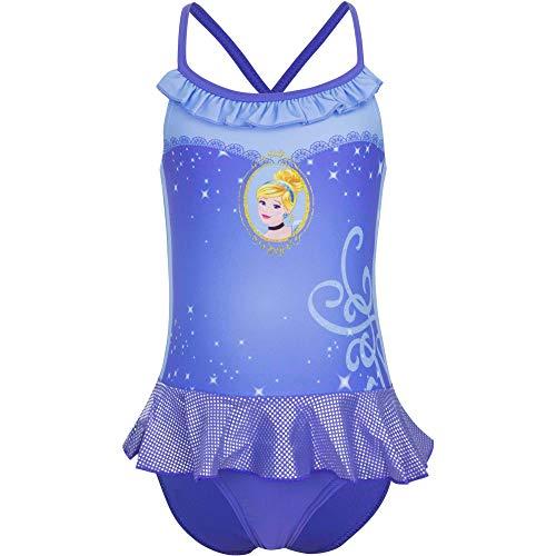 Principesse Costume Intero Piscina Mare Bambine Ragazze (Cenerentola, 3 Anni)