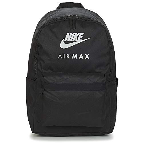Nike NK HERITAGE BKPK AIRMAX - GFX Rucksäcke hommes Schwarz - Einheitsgrösse - Rucksäcke