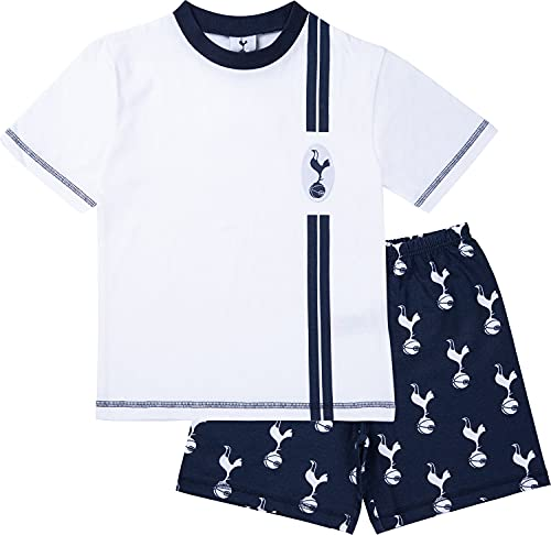 Tottenham Hotspur F.C. Boys Pyjamas, Cotton Spurs Pjs, Official Football Pyjamas for Kids and Teenagers (11-12 Years, 11_years) White