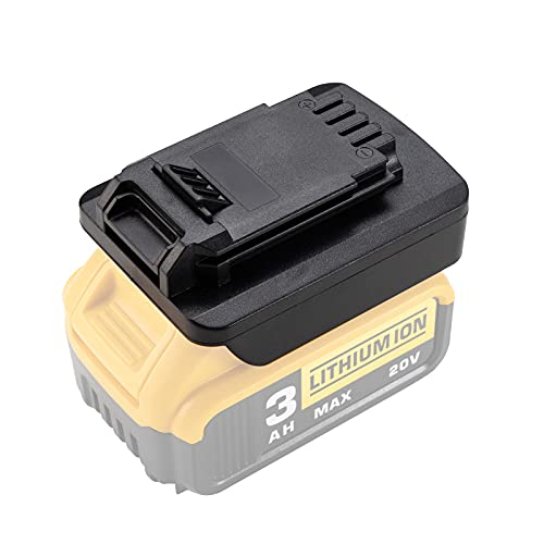Adapter Converter for Dewalt 20V Li-ion Battery to Porter Cable 20V PCC685L PCC682L, Black & Decker 20V LBXR20 LB20 LBX20 Power Tool Battery