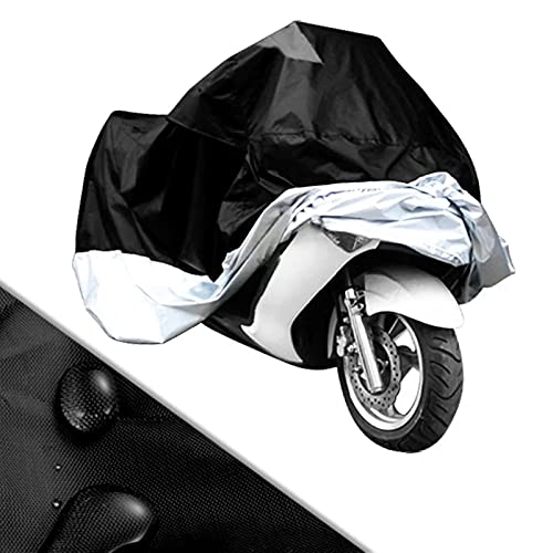 Lixiaonmkop 190T stoff Tool motorrad abdeckung wasserdichte staubdichte scooter deckt uv schneesistent peva heavy rapping bike moto abdeckung (Size : XXL 245x105x125cm)