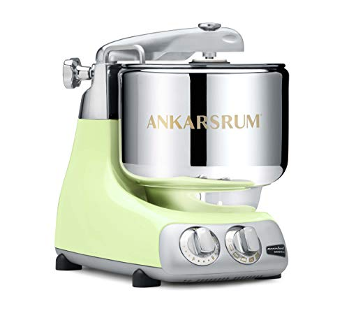 Ankarsrum 6230 GR Original 6230-Pearl Assistent Original-AKM6230 Kitchen Machine-Pearl Green (PG), Aluminium, 7 liters, grün