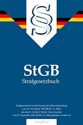 Strafgesetzbuch (StGB) (German Edition)