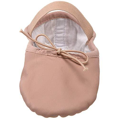 Bloch Dance Women's Dansoft Full Sole Leather Ballet Slipper/Shoe Dance, Theatrical Pink, 5 C US