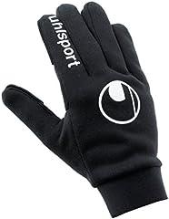 uhlsport Player's Glove Guantes De Portero De Fútbol, Unisex Adulto, Negro, 6