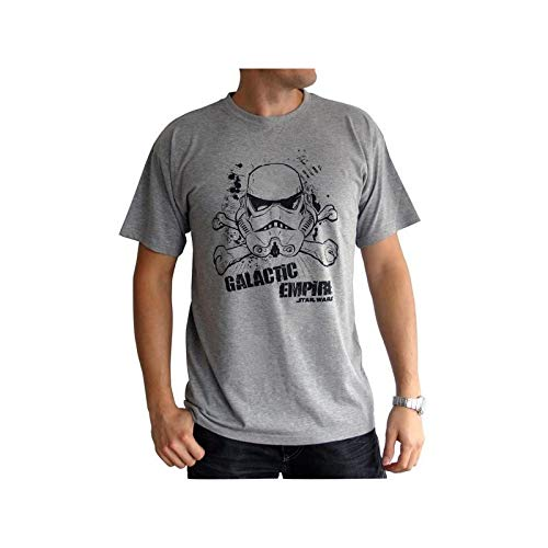 ABYstyle abystyleabytex141-s Abysse Star Wars Imperio Galáctico de manga corta Hombre basic camiseta (pequeño)