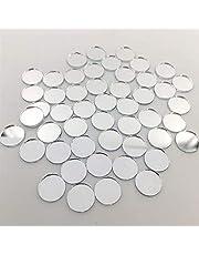 200 stuks mini spiegel cirkels ronde spiegel mozaïek tegels voor kunst mozaïek maken (Dia 1 cm)