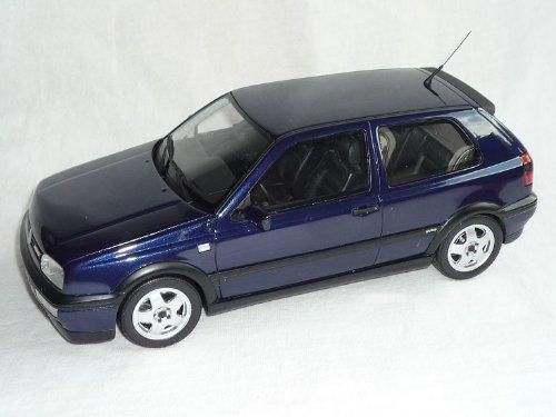 Unbekannt Volkwagen Golf 3 iii Vr6 Vr 6 Blau 3 TÜrer 1991-1997 1/18 Otto Models Modellauto Modell Auto