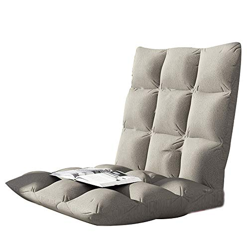 AiHerb.LO JL HX Canapé Paresseux Tatami Canapé-lit Simple Dossier Chaise Chaise Balcon Chambre Simple Petit Canapé Chaise A+ (Couleur : E)