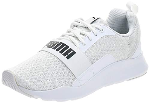 PUMA Wired, Zapatillas Unisex Adulto, Blanco White White White, 43 EU