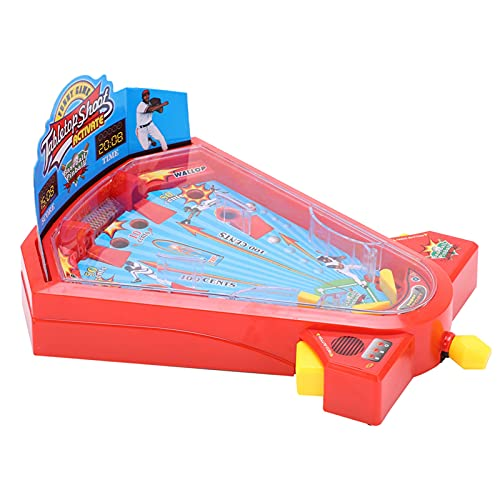 xiji Point Games Pinball Arcade Machine, Juego De Arcade De Tiro De Mesa En Miniatura De Plástico para Exteriores para El Hogar