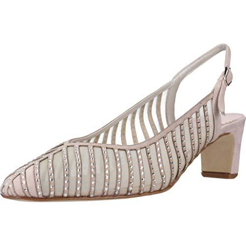 Argenta Zapatos Tacon 33407A Mujer Beige