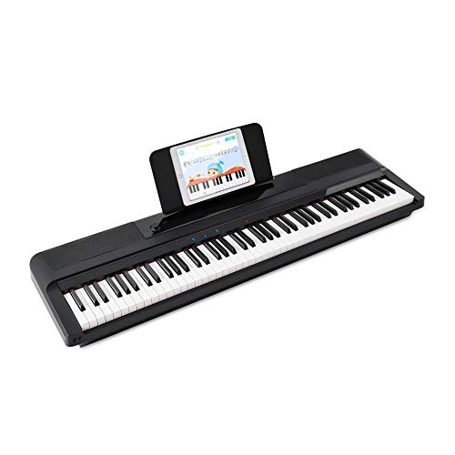 The ONE Music Group, 88 Smart Pro Essential, Portable Digital Keyboard, Stage Piano...