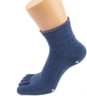 SGJFZD 5pairs/Set Printed Yoga Socks Cotton Five-Finger Socks Manufacturers Wholesale Sports Training Women's Socks Toe Socks, Color Random Send (Color : Random)