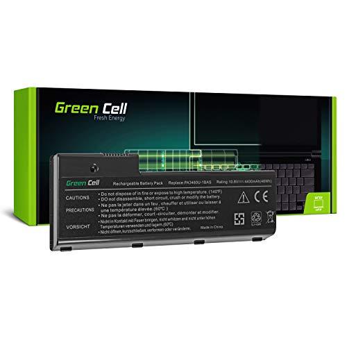 Green Cell® Standard Serie PA3479U-1BRS PA3480U-1BRS Laptop Akku für Toshiba Satellite P100 P105 Satellite Pro P100 P105 (6 Zellen 4400mAh 10.8V Schwarz)