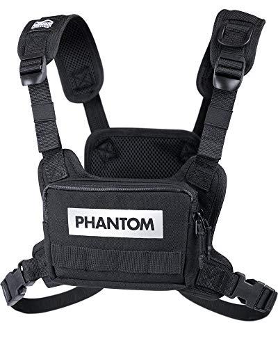Phantom Chestbag Tactic - Sport Brusttasche | Optimale Passform | Männer Damen