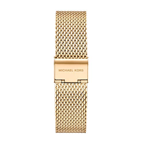 Michael Kors Women's Lexington None Watch with Stainless Steel Strap, Gold, 20 (Model: MKT9091)