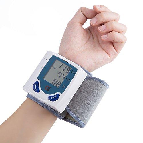 BDFA Voller Automatischer Handgelenk-Blutdruckmessgerät, 90 Satz Gedächtnis, Das Gesundheit Digitale Blutdruckmessgerät Für Ihre Gesundheit