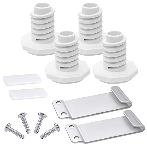W10869845 Dryer Stacking Kit Compatible With Whirlpool Washer And Dryer Replace Number W10298318RP,1862761, 52774, AH3407625 By Romalon
