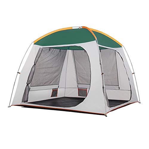 Camping Zelt Markise Kuppel Wasserdicht Familie 3-4 Person Single Layer/Double Skin UV-Schutz Regenfest Stehende Strand Wandern Urlaub Im Freien Zelt
