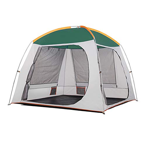 Dance angel Camping Tent Awning Dome Waterproof Family 3-4 person Single/double skin Anti-UV Standing head height Full standing height Beach Hiking Vacation Outdoor Tent