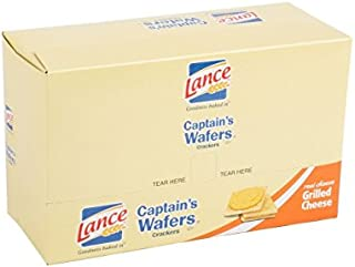 Lance Captain's Wafers Grilled Cheese Sandwich Crackers [20-Count Caddy]