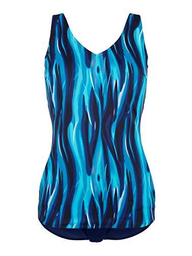 Maritim Badeanzug in Schößchenform Blau
