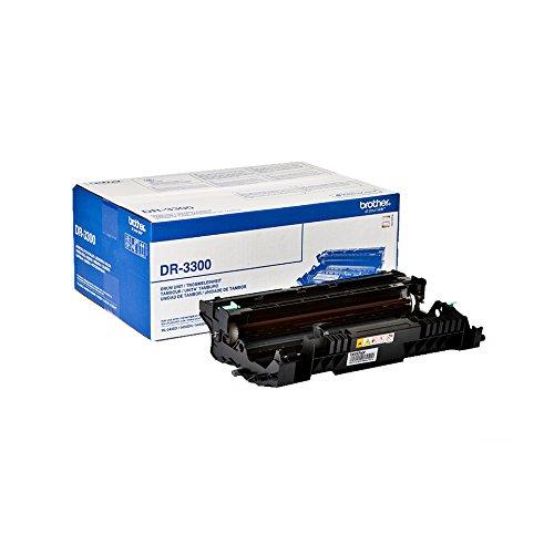 Brother DR-3300 滚筒单位适用于 HL-5440D,HL-5450DN 和 HL-5450DNT,30000 页 黑色