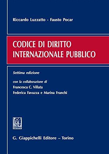 Codice di diritto internazionale pubblico