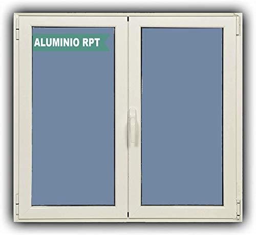 Ventanastock Ventana Aluminio RPT 45 Practicable Oscilobatiente 1000X1000 2 hojas con climalit