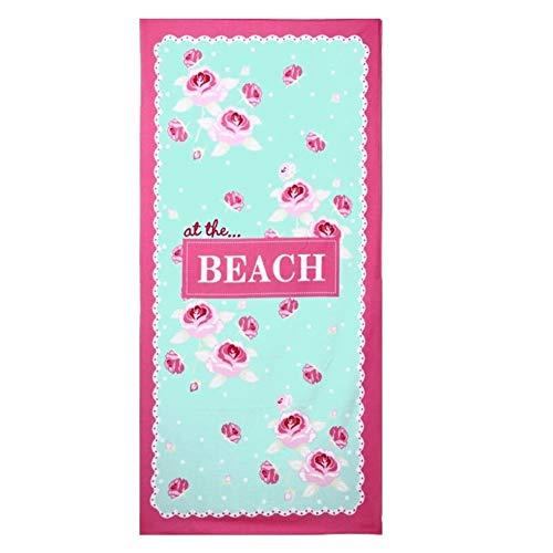 YANODA 1 PC Toallas De Baño De Microfibra 70 * 150cm Toalla De Playa Toallas Deportivas Grandes Accesorios For Acampar Transpirable (Color : Beach)