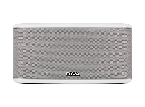 Riva Festival Blanco (Wand Series) Altavoz Multi-Room, 200 W, DLNA, Airplay, Google Home, Wi-Fi, Chromecast, Bluetooth