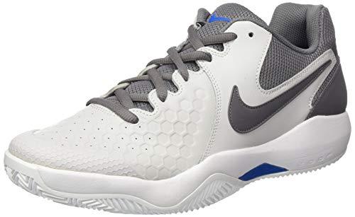 Nike Herren Tennisschuh Air Zoom Resistance Fitnessschuhe, Mehrfarbig (Vast Grey/Gunsmoke-B 044), 44.5 EU