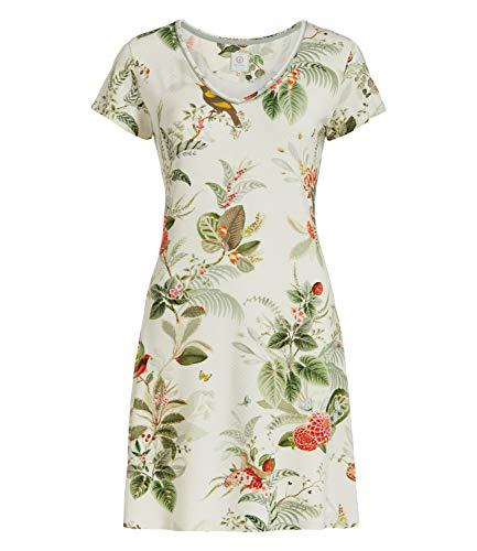 PiP Studio Damen Nachthemd Djoy Floris Creme (157) M