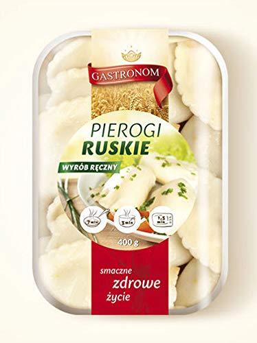 Handgemachte Polnische Maultaschen (Pieroggen) mit Schichtkäse und Kartoffeln Russische Art Pierogi Ruskie (3)